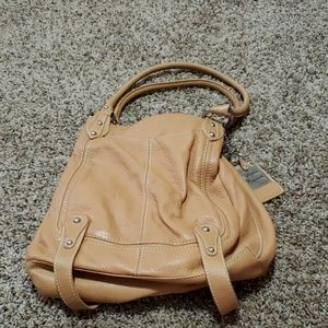 Light brown leather Sophia cappelli bag.
